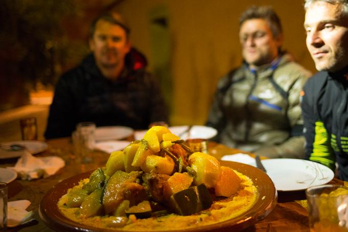 Diner Tajine